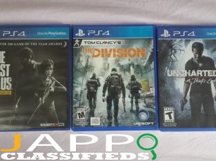 PS4 Game CDS