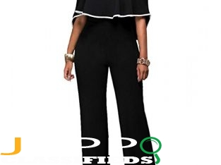 Women's jumpsuit black