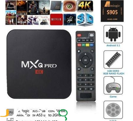 Android TV Box MXPro 4K