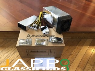 Avalon Miner 741 Canaan 7.3TH/s Bitcoin Miner. Includes Canaan PSU & Controller ====$700usd