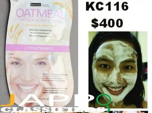 Oatmeal Oxygen Bubble Mask