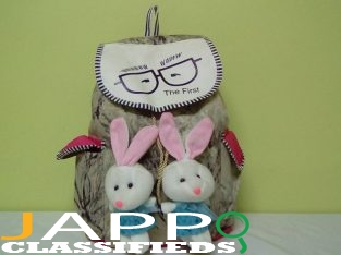 Bunny Backpack (Brown)
