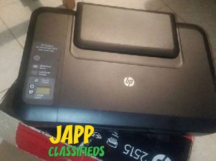 HP Deskjet All In One Printer, Scanner And Copier