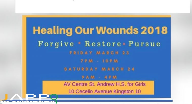 Annual HEALING our WOUNDS 2018