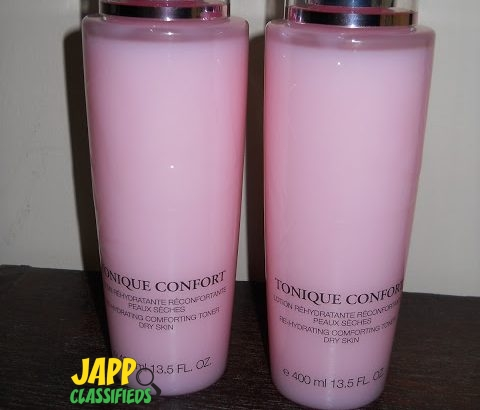 Lancome tonique confort,Avene, Estee Lauder Bioderma, Vichy, L'Oreal,Pantene, Evian, Nars Cosmetics and Skin care products