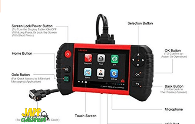 LAUNCH CRP Touch Pro 5.0″ OBD 2 Scan Tool