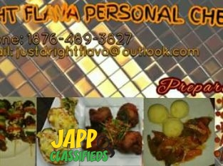 JUST D RIGHT FLAVA PERSONAL CHEF SERVICE