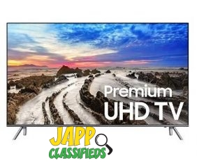 Samsung Electronics UN65MU8000 65-Inch 4K Ultra HD Smart LED TV