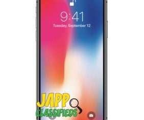 Apple – iPhone X 64GB – Space Gray (Sprint)