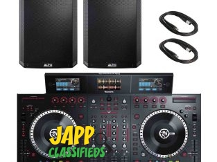 Pioneer DJ XDJ-RX2 Rekordbox DJ System with KRK Rokit RP5G3 5″ Powered Monitor Speakers