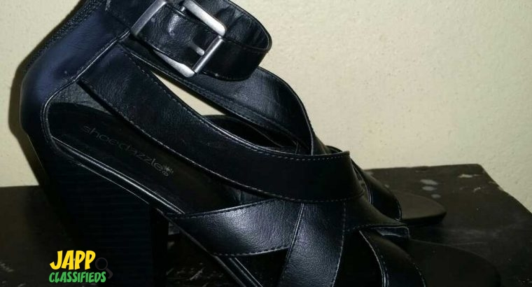BRAND NEW Black High Heel Shoes