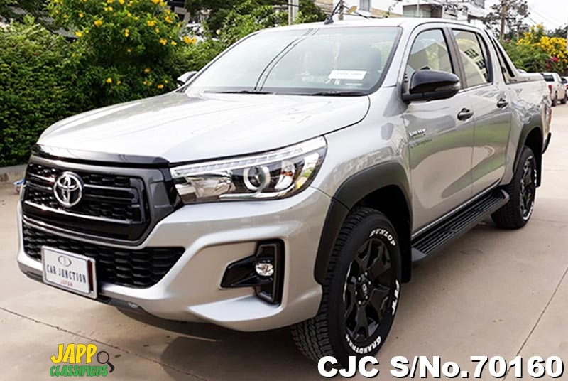 Toyota Hilux Revo Rocco Silver Automatic 2018 2 8L Diesel for Sale