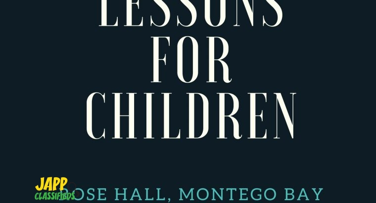 Piano Lessons for Children in Montego Bay