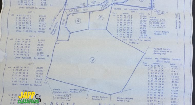 1/4 Lots for sale at Bogue Hill