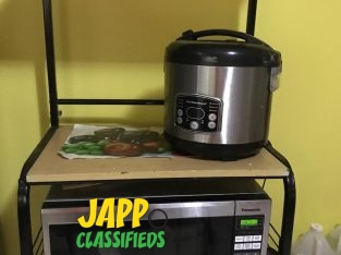 Microwave and Rice cooker for sale