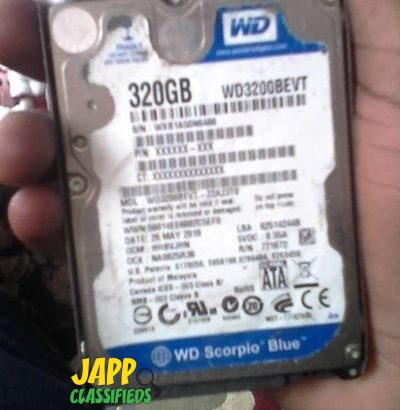 Laptop HDD