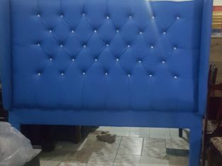Beautiful King Size Padded Headboard For Sale
