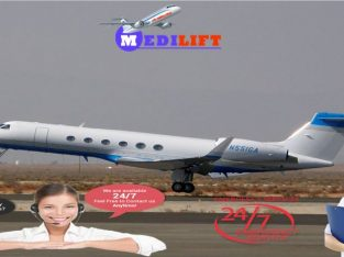 Medilift Air Ambulance Service in Bangalore