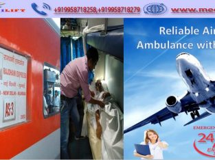 Get Certified Air Ambulance Service in Varanasi
