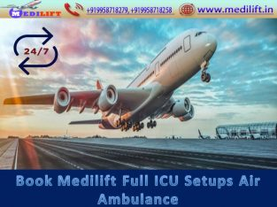 Get the Medilift Air Ambulance in Jamshedpur