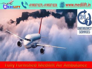Avail of the Low-Cost Air Ambulance Guwahati
