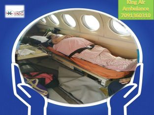 Now King Air and Train Ambulance Services in Delh