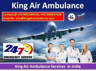 Kolkata Emergency Medical Air Ambulance Service-Ki