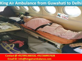 Guwahati Air Ambulance Service-King Air Medical Se
