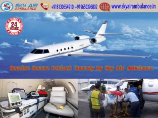 Get Instant Patient Shifting by Sky Air Ambulance