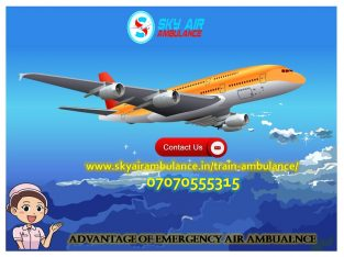 Take India's Top Grade Charter Air Ambulance