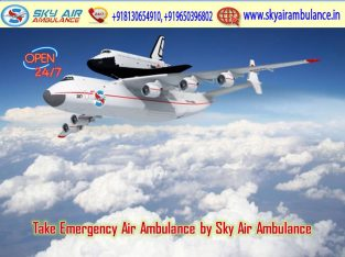 Pick Uncommon Commercial Air Ambulance in Raigarh