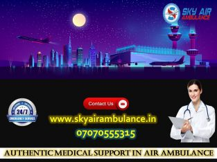 Avail 24/7 Hour MICU Facility Sky Air Ambulance