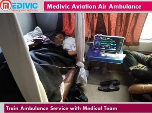 Train Ambulance by Medivic Aviation in Patna