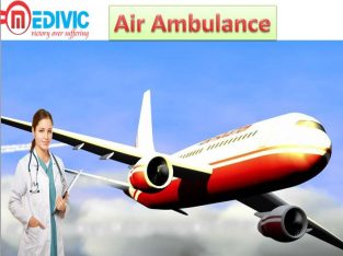 Air Ambulance by Medivic Aviation in Bokaro with M