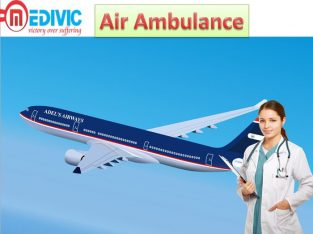 Best Air Ambulance Service by Medivic Aviation