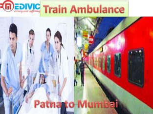 Train Ambulance Service by Medivic Aviation