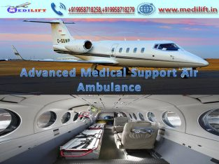 Book Medilift Air Ambulance from Kolkata