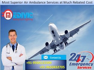 Most Economical Emergency Air Ambulance in Kolkata