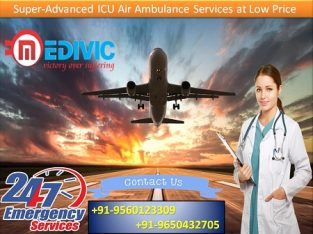 Hi-Fi Service Rendered Air Ambulance in Patna