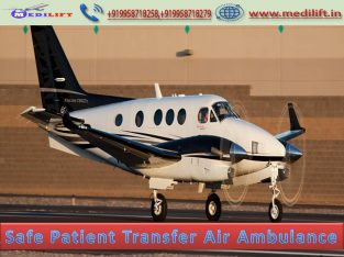 Now Book Medilift Air Ambulance from Ranchi