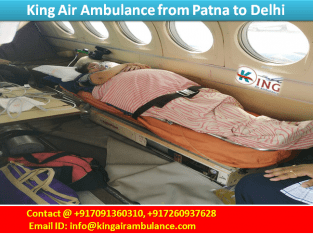 Guwahati Medical Emergency King Air Ambulance