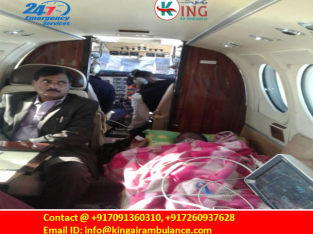 King Air Ambulance in Kolkata-Air Ambulance