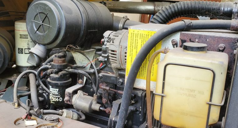 2006 Atlas Copco Portable manual air compressor