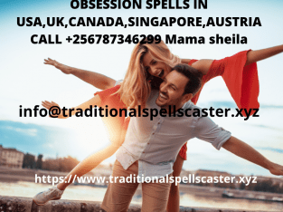 OBSESSION SPELLS IN NEW ZELAND +256787346299