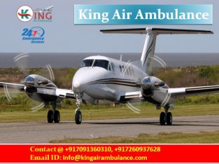 Get Impeccable Life Support Air Ambulance Service