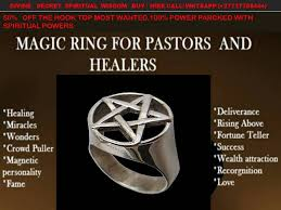 powerful Magic Ring For Pastors +27634531308