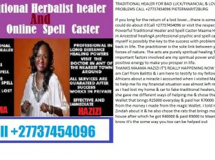 TRADITIONAL HEALER FOR BAD LUCK &LOVE +27737454096