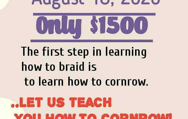learn how to cornrow
