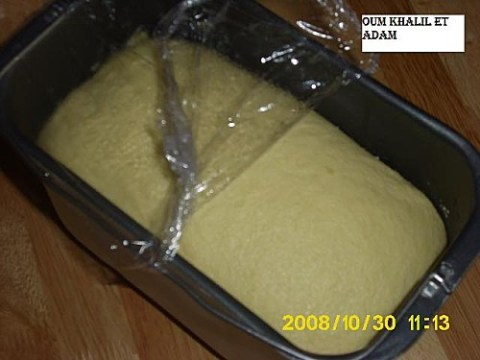 تخمير خبز بالسميدة