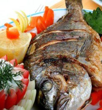 سمكة بحشوة الرز